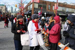 MoveUP at the 2018 Lunar New Year parade