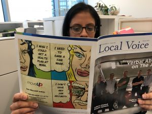 Reading Local Voice