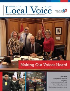 Local Voice Spring 2018 cover