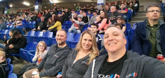 MoveUP members at Vancouver Stealth game