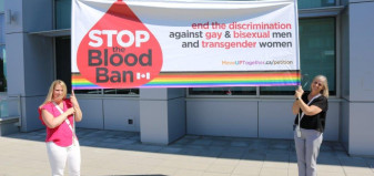 MoveUP blood ban banner