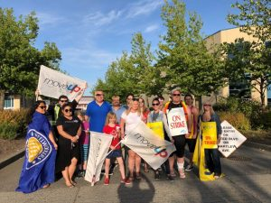 MoveUP supporting striking BCGEU workers at Hard Rock Casino