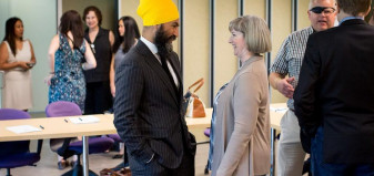 Lori Mayhew chats with Jagmeet Singh