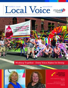 Local Voice Summer/Fall 2018 front page