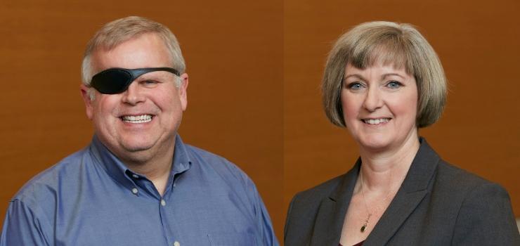 David Black and Lori Mayhew