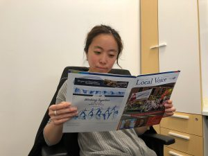 Anny reading 2018 Summer/Fall Local Voice
