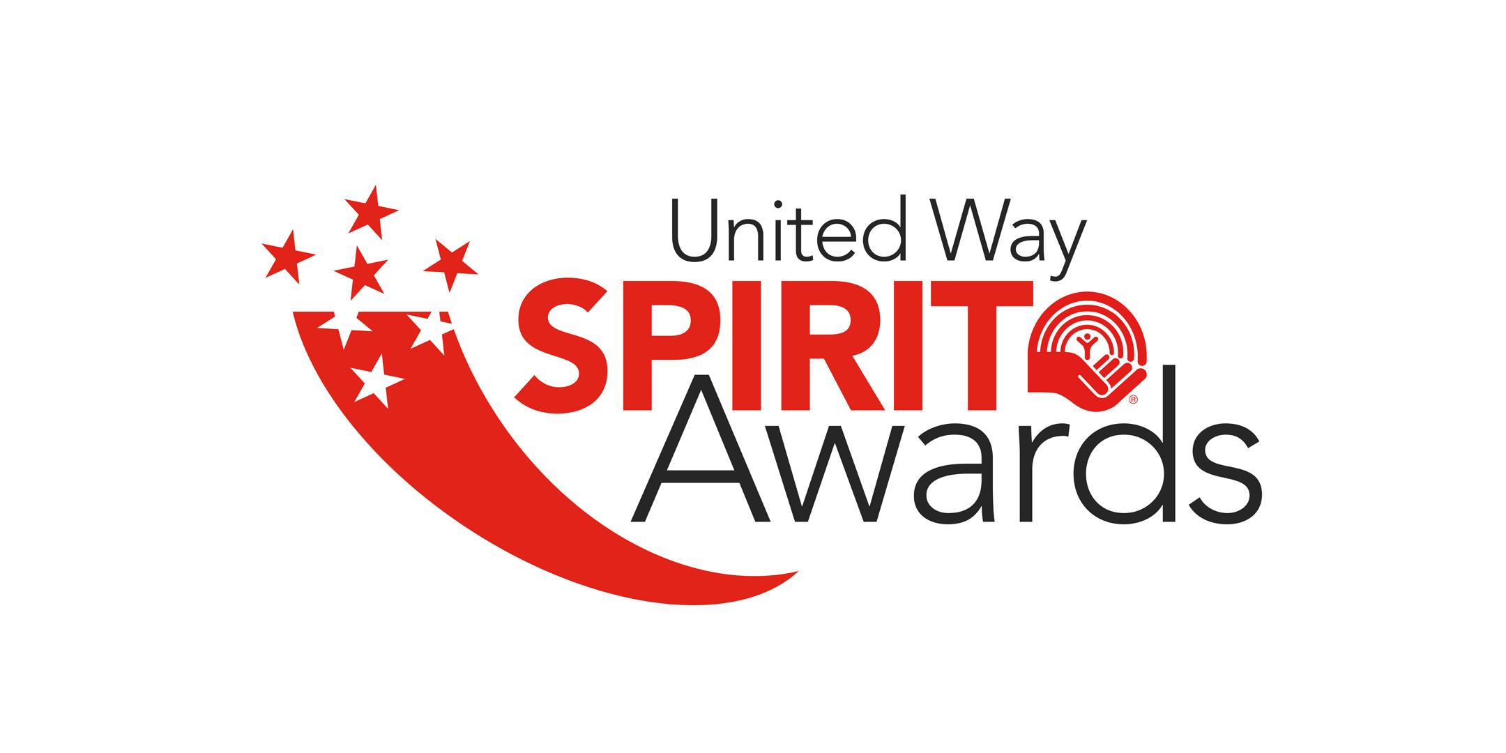 United Way Spirit Awards logo