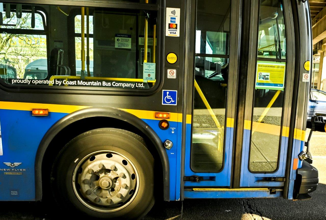 Vancouver transit bus